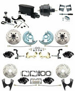 1964-1972 Chevelle A Body Front And Rear Disc Brake Kit 4 Wilwood Calipers Master