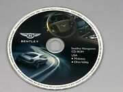 04 05 06 Bentley Continental Gt Flying Spur Navigation Map Midwest Ohio Valley