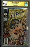 Groo 116 Cgc 9.8 Signed Sergio Aragones Tough Later Issue 1600184010