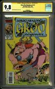 Groo 117 Cgc 9.8 Signed Sergio Aragones Tough Later Issue 1580606025