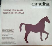 New Andis Educational Dvd Clipping Your Horse Equestrian Professional Grooming