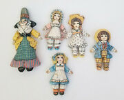 Valerie Leonard Toys Work Nursery Rhymes Mother Goose And Friends Plush Toy Doll