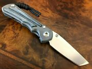 Chris Reeve Knives Small Inkosi Tanto S35vn Black Micarta Left Handed Sin-1045