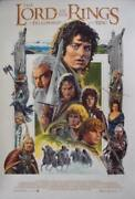 Lord Of The Rings Fellowship Of The Ring Limited Edition Print Signed Paul Mann