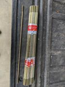 Lot Of 56 -- 18 Inch 1/4 Brass Coated Float Rod Toilet Tank Repair