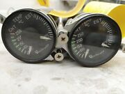 Beechcraft Cht/egt Indicator 58-380104-5 Md74-5 Mid Continent With Warranty