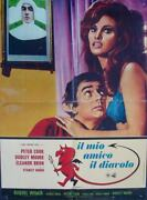 Bedazzled Italian 1f Movie Poster A Raquel Welch Dudley Moore 1968
