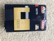 Abus Lock 82/70 For Shed Gate Container Bike Bicycle Chain Vs Master Key