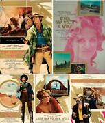 Once Upon A Time In The West Italian 1f Movie Poster X 5 Fonda Cardinale Leone