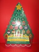 Melissa And Doug Countdown To Christmas Wooden Advent Calendar Magnetic Ornaments