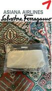 Salvatore Ferragamo Asiana Airlines First Class Suite Amenity Kit Luxury Sealed