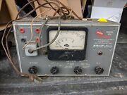 Mcmurdo Vomax Model 900 Silver Vtvm -- Powers Up But Untested
