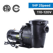 1hp 115v 2-speed High-flo In/above Ground Swimming Pool Pump Energy Saving