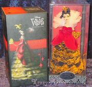 Disney Designer Villains Collection Doll Queen Of Hearts Limited Edition