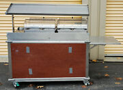 Cadco Cbc-gg-4-l5 Mobileserv Hot Wells Food Cart