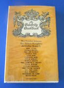 Vintage 1966 The Celebrity Cookbook, Introduction By Dinah Shore Hardcover