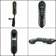 Nuance Dictaphone Powermic Ii 44365 High Quality Microphone For Dictation Black