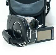 Sony Dcr-dvd610e Mini Dvd Handycam Video Camera Camcorder Tested W/ No Charger