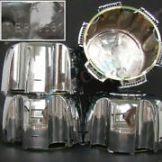 4 X Replacement Wheel Center Hub Covers H Fit For Mitsubish Montero Sport Pajero