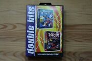 Mega Drive - 2 In 1 Micro Machines + Psycho Pinball [double Hits] Boxed Mint