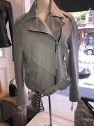 Andrew Marc Leather Jacket Womens