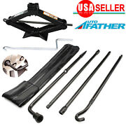 For Ford F150 04-14 Spare Tire Lug Wrench Tool Kit Scissor Jack For Repair Us