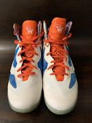 Russell Westbrook Game Used Worn Promo Sample Nike Shoes Size 14.5 Thunder Mvp
