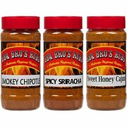Bbq Bros Rubs {sweet Smokey And Spicy Style } - Ultimate Barbecue Spices Season...