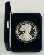 2007 Silver 1oz American Eagle 1 Silver Proof Us Eagle Coin With Box And Cert