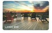 Landsand039 End Sunset Deck Adirondack Chairs Gift Card No Value Collectible