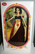 Disney Snow White Limited Edition Doll Deluxe Low No. 11 / 5000 17 Inch Ship Box