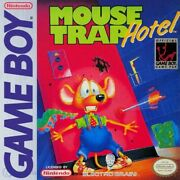 Nintendo Gameboy Game - Mouse Trap Hotel Cartridge With Manual