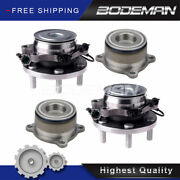 2 Front And 2 Rear Wheel Hub Bearing Set For 2wd 05-18 Nissan Frontier Xterra A.t.