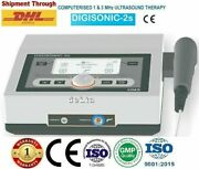 Portable Physiotherapy Ultrasound Therapy 1mhz And 3mhz Pain Relief Therapy Unit.