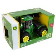 1/16 John Deere 9620r Tractor With Front Blade By Ertl Big Farm 46794