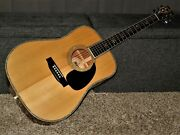 Made In Japan 1979 - Morris W39m - Absolutely Great D45 Style Acoustic Guitar