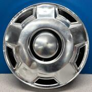 One 1975-1991 Ford Econoline / F100 / F150 / Bronco Dog Dish Hubcap Wheel Cover