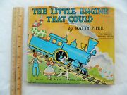The Little Engine That Could Complete Orig Edit Watty Piper 1961 Hc/dj