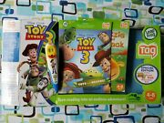 Toy Story 3 Special Woody Leap Frog Tag Reader Reading System Books Box