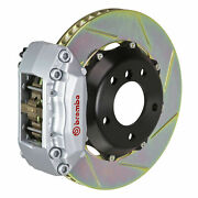 Brembo Gt Bbk For 99-00 Civic Si Coupe | Front 4pot Silver 112.6017a3