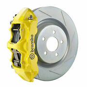 Brembo Gt Bbk For 16-19 Camaro Lt | Front 6pot Yellow 1l5.8018a5