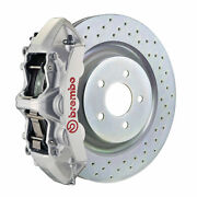 Brembo Gt Bbk For 16-19 Camaro Ss | Front 6pot Silver 1l4.8018a3