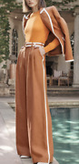 Zimmermann Super Eighted Belted Blazer And Pants Set Us Size 4-6 Orig 1700 Nwt
