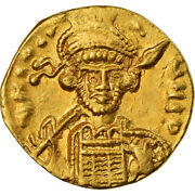 [488322] Coin Constantine Iv Solidus Constantinople Au50-53 Gold