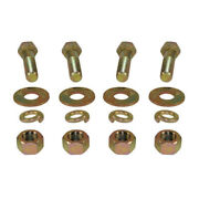 Lunette Ring And Pintle Hook Mounting Bolt Kit - 3/4 Inch Grade 8 Mk-134