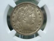 1916 D Barber Quarter 25c Ngc Ms62 East Coast Coin And Collectables Inc.