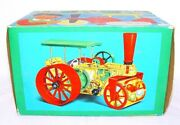 Gama Germany Historic Steam Road Roller Tractor Kit Battery Operated Mib`65 Top