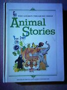 Animal Stories 1968 The Golden Treasure Chest Book Vintage Rare