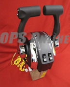 Mercruiser Twin Engine Console Mount Control W/ Trim- 8m0075246 And 881125a1 X2