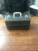 Vintage 50's Watertite Union Steel Chest Tackle Fishing Box